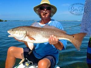 David-Parker-with-oversized-female-redfish.-1
