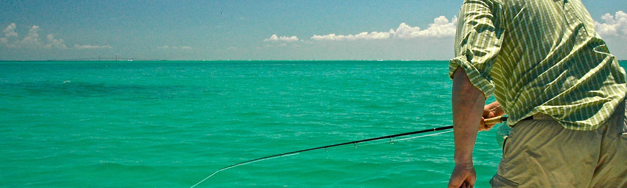 Tampa Bay Tarpon Fly Fishing.