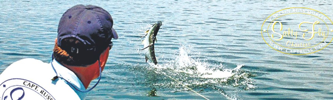 Fishing Capitol of World - Florida West Coast Tarpon Fly Fishing with Salty Fly Charters.