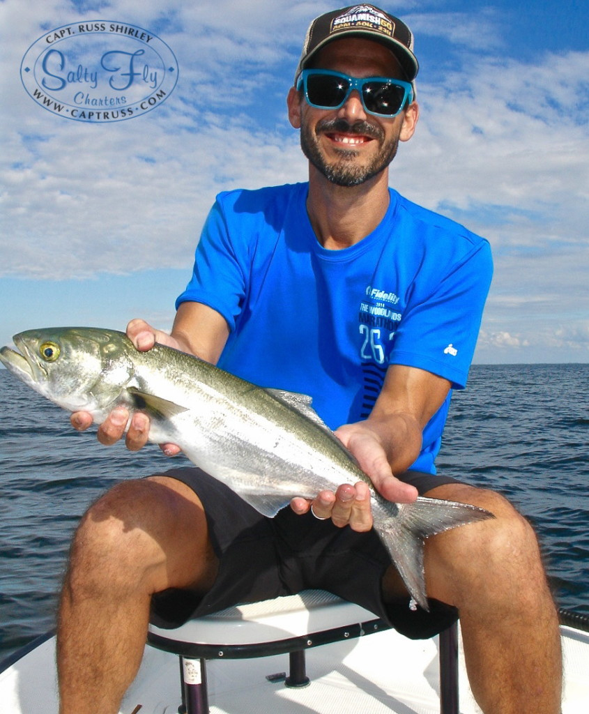 Fly Fishing Tampa Bay, St. Petersburg, Clearwater with Salty Fly Charters